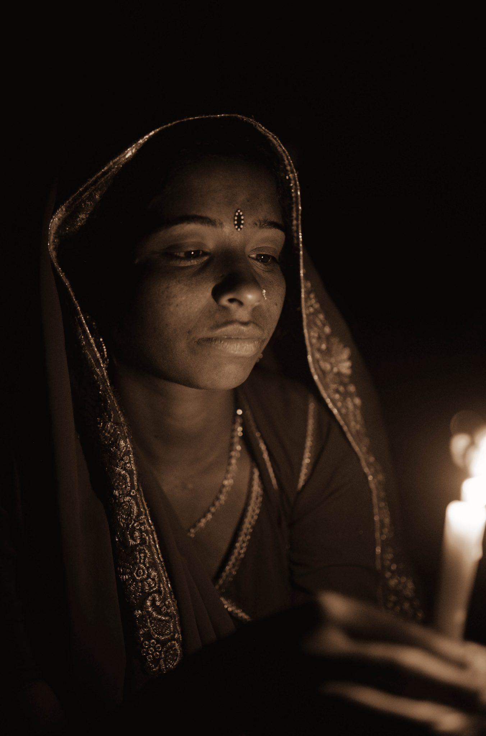 A woman in Pushkar, Rajasthan