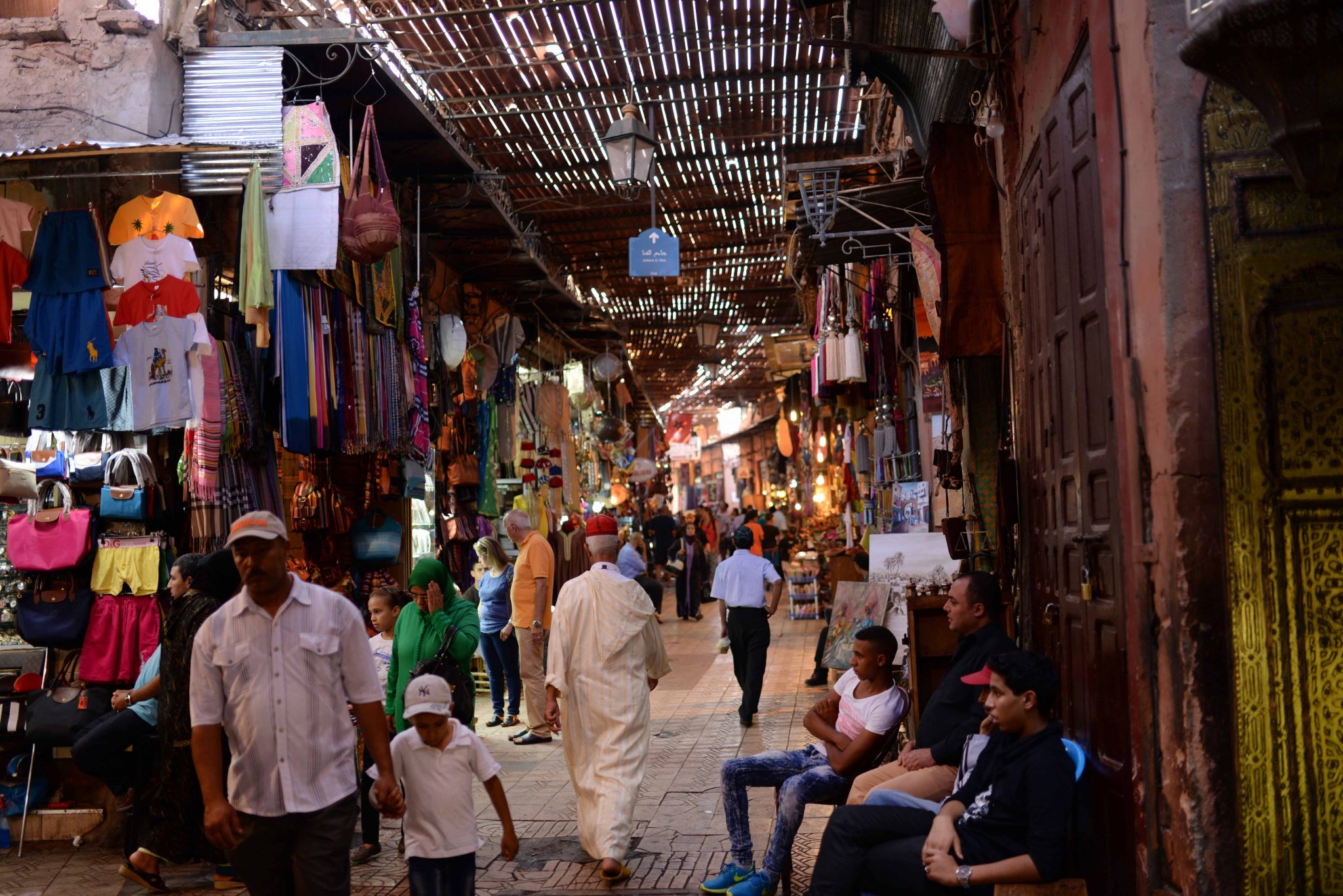 Colorful souks