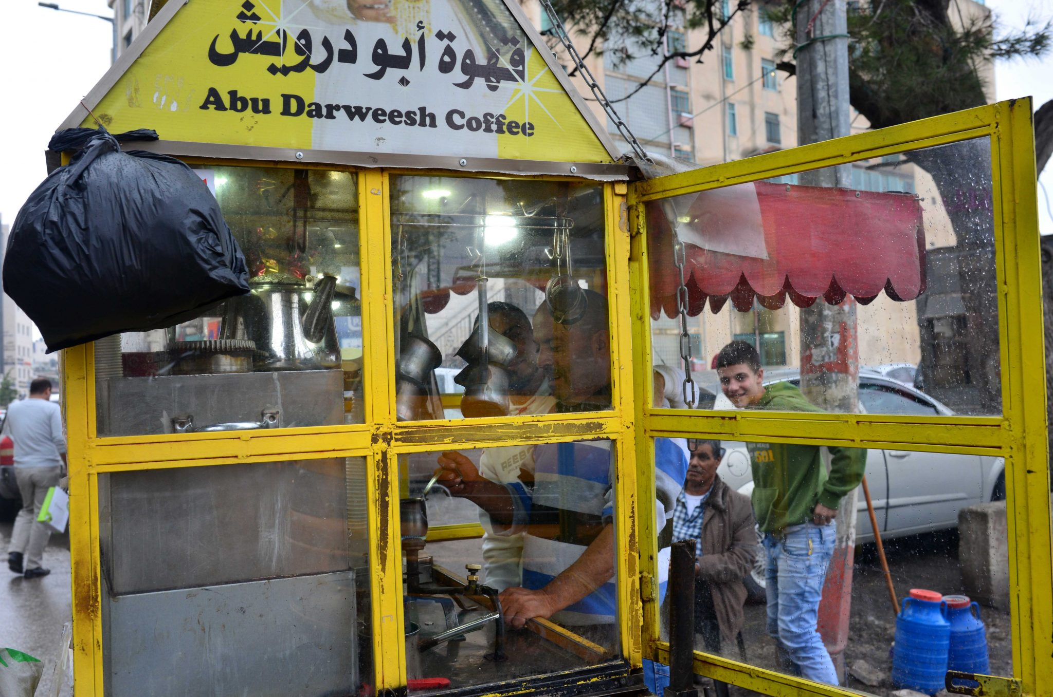 Coffee stand, Ramallah