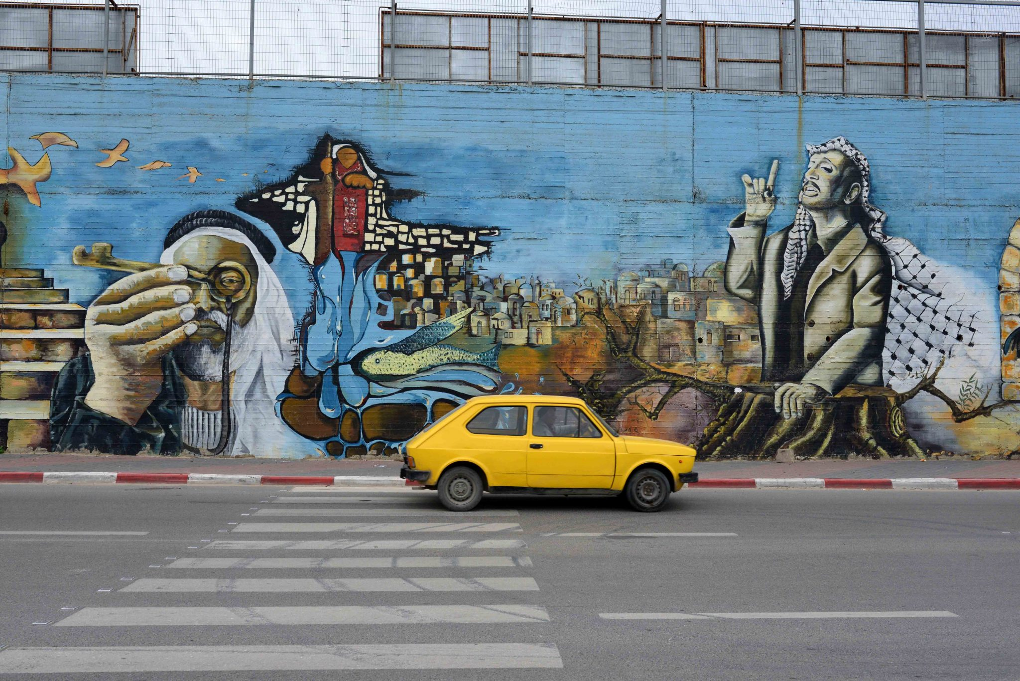 Big Mural in Nablus