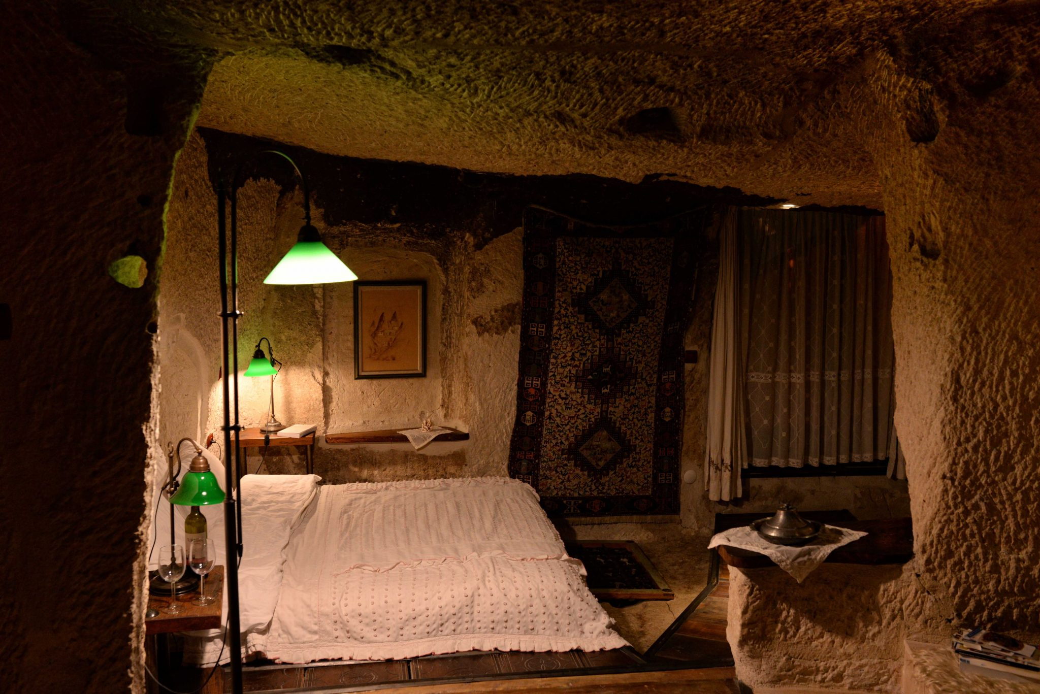Our cave hotel