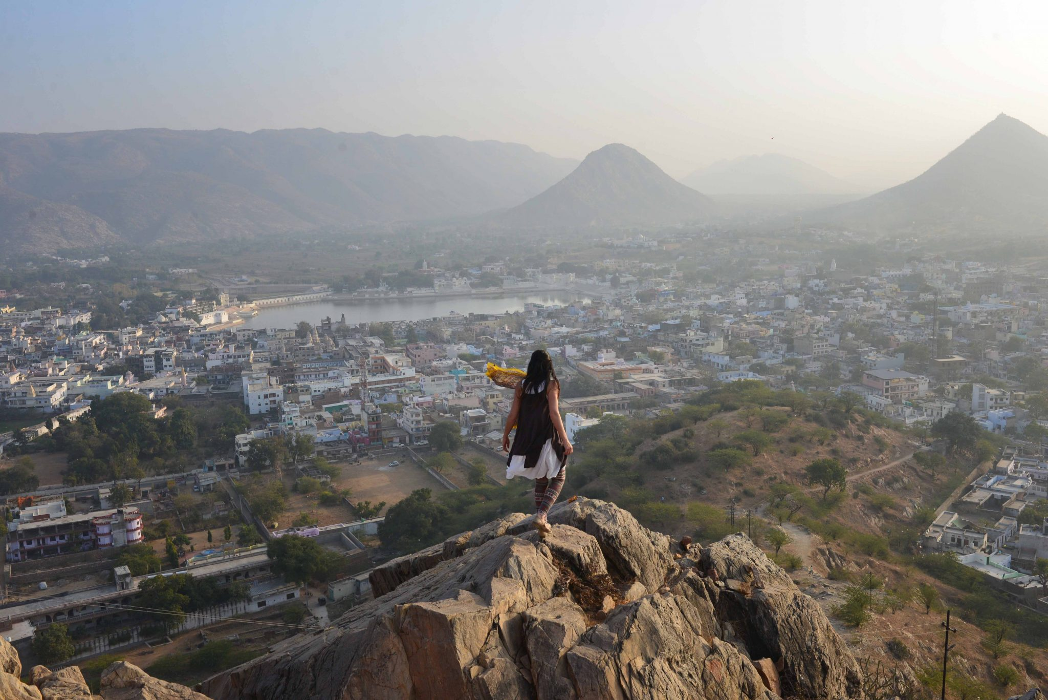 A hike to Gayatri Temple, Pushkar