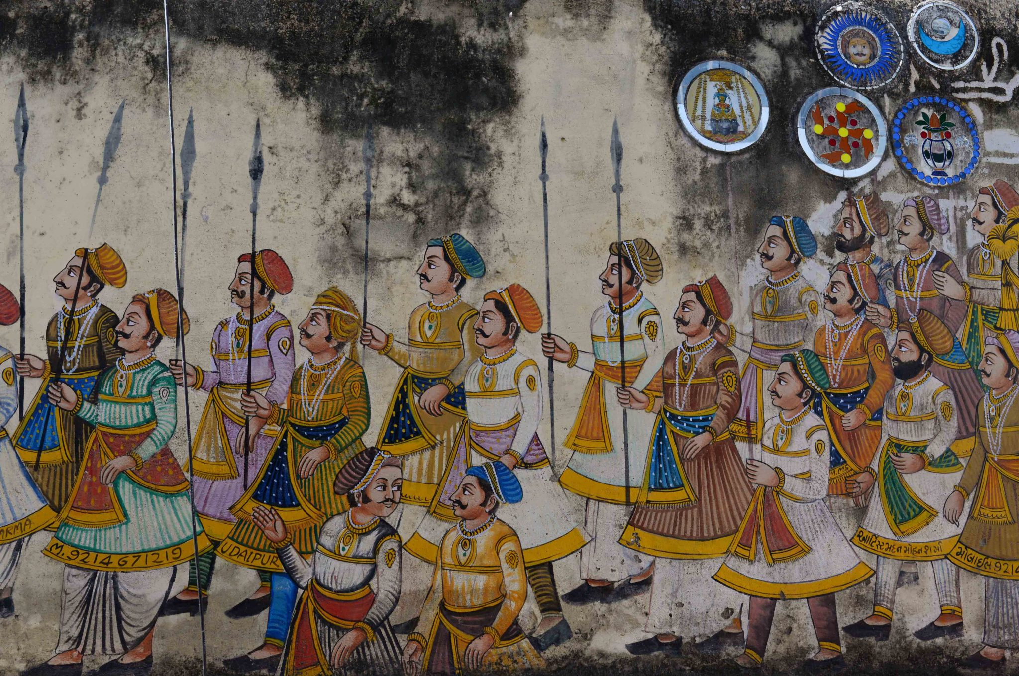 Mural in Udaipur