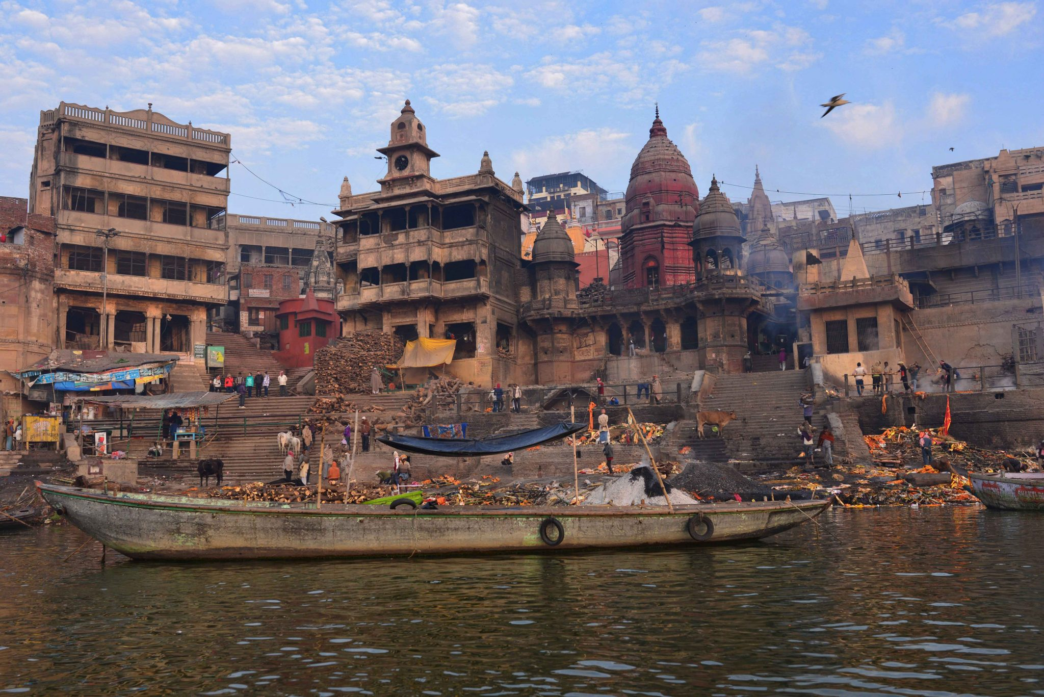 Manikarnika, the burning ghat