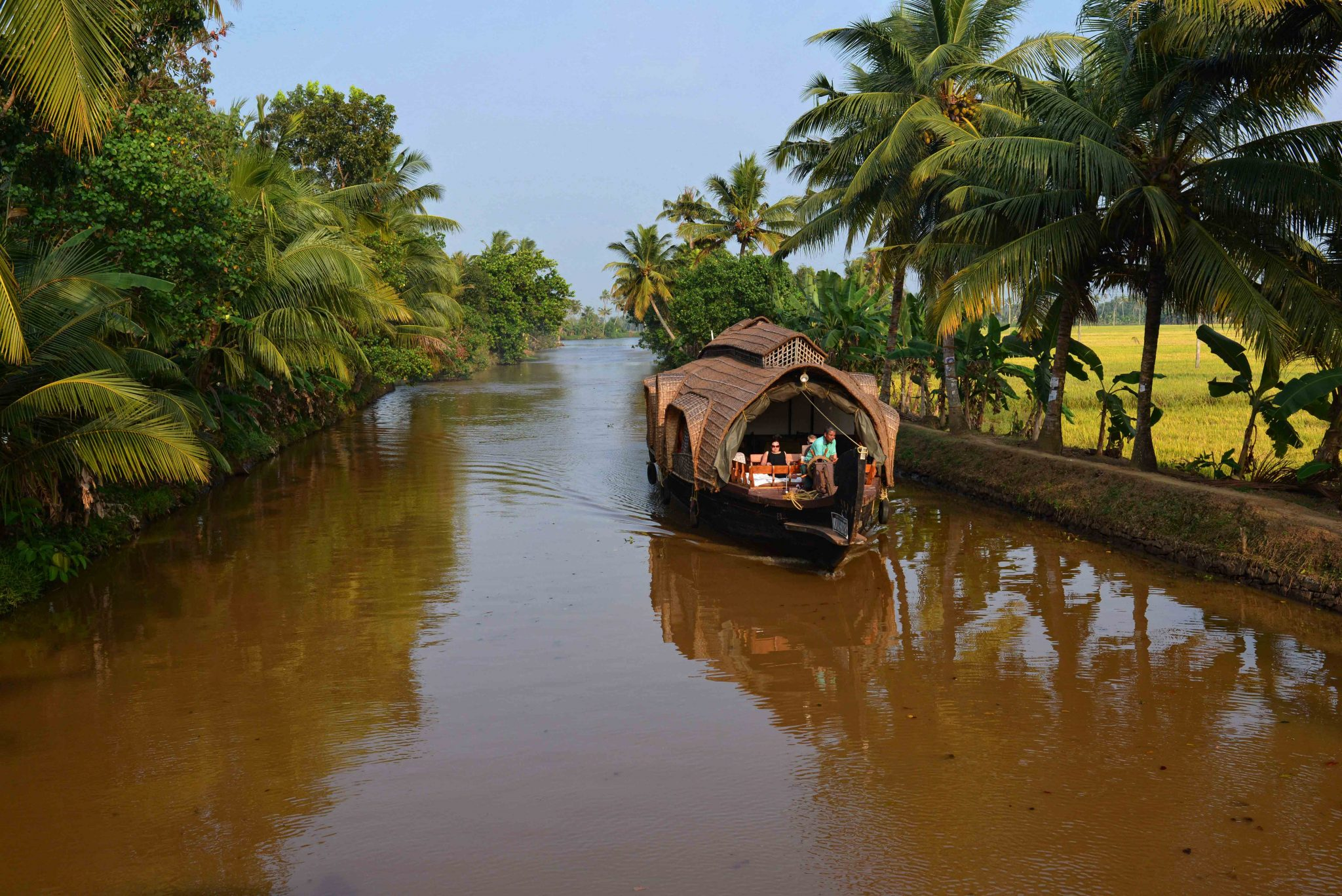 Relaxing Houseboat Cruise, Kerala Backwaters