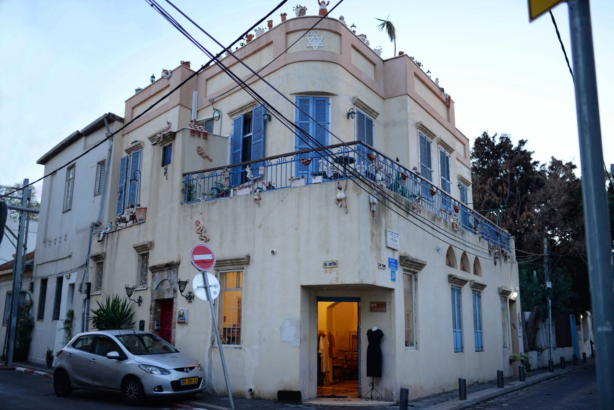 Building in picturesque Neve Tzedek