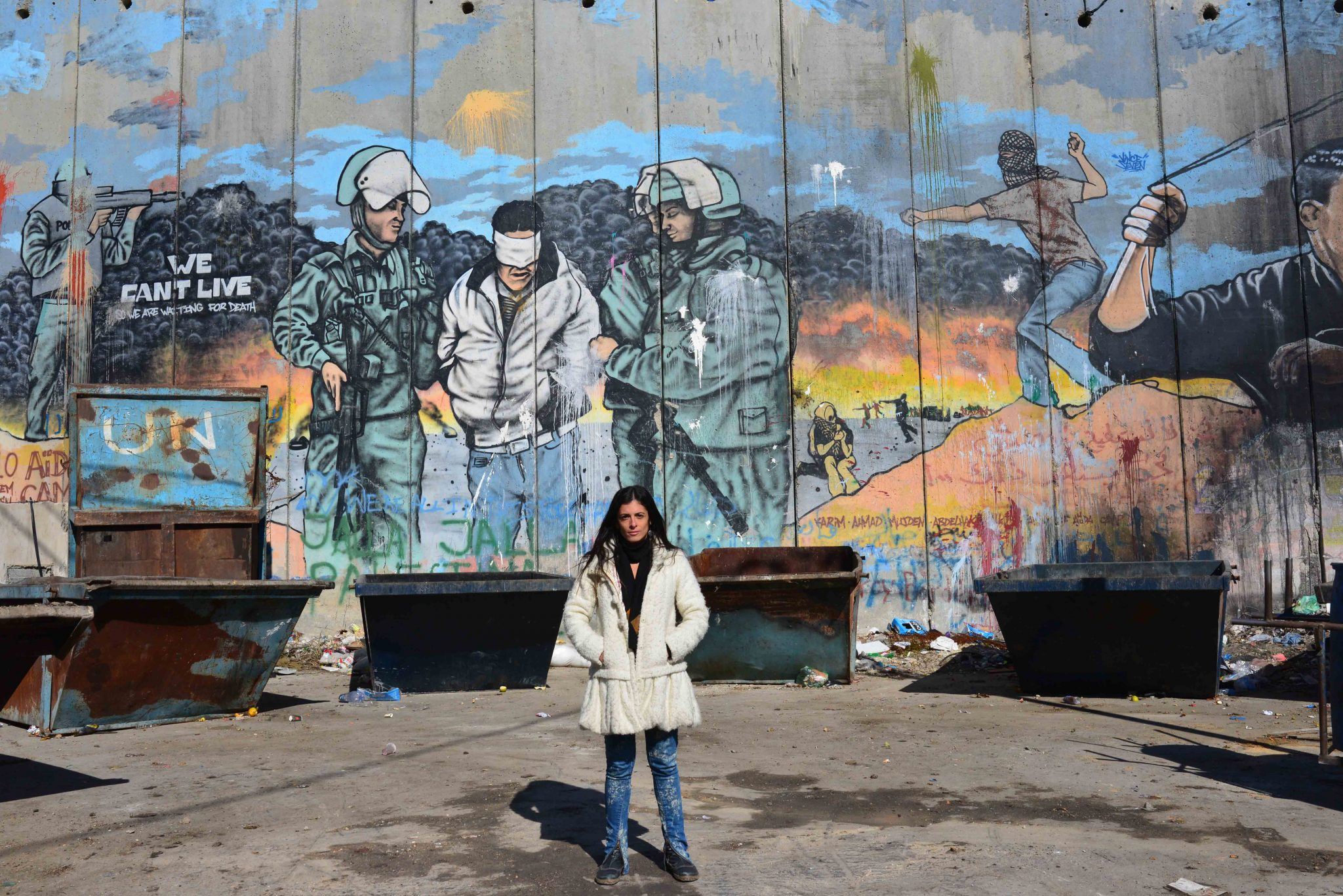 Mural on Separation Wall, Bethlehem