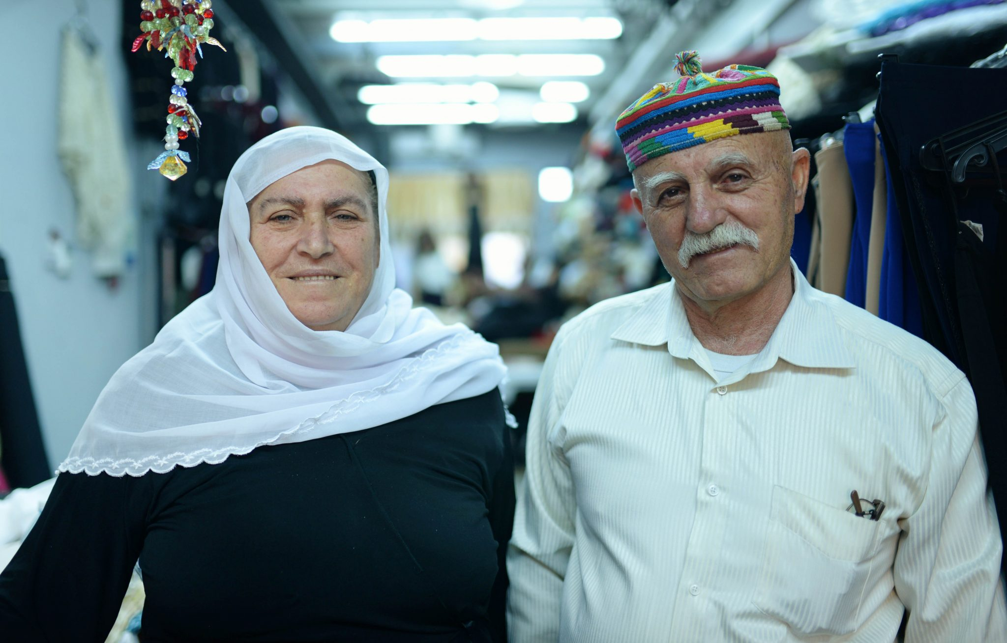 Druze couple in Daliyat El Carmel