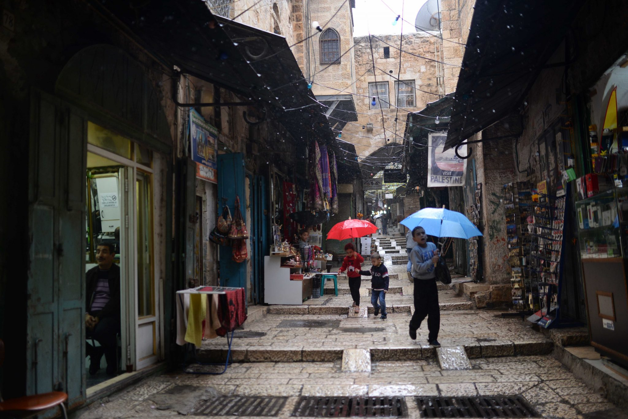 Muslim Quarter in Jerusalem