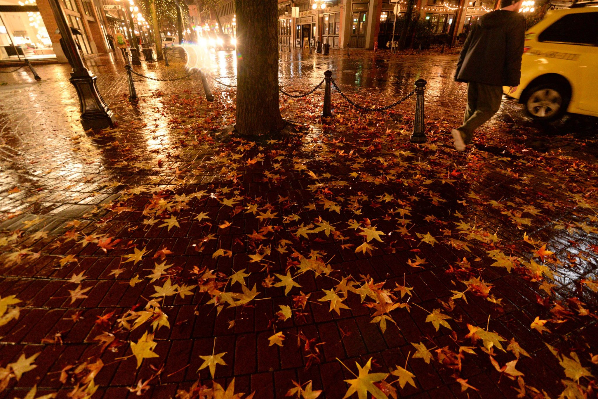 Fall in Gastown