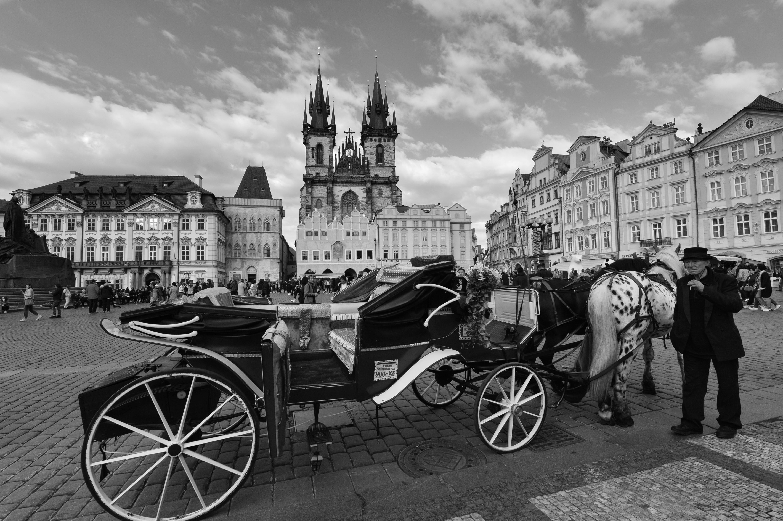 Praha in Black & White